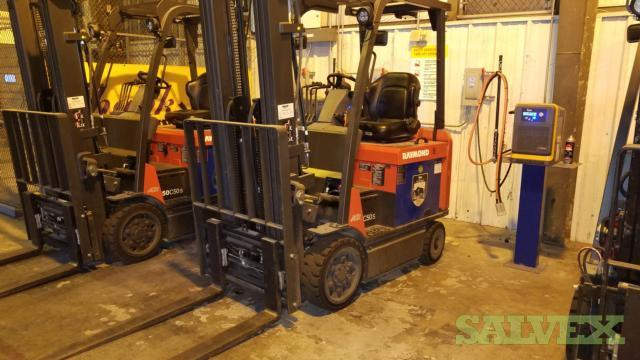 Raymond Forklifts (4 Units)