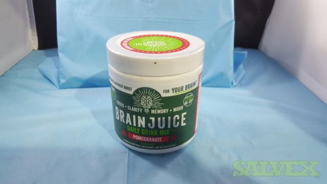 Brain Juice Daily Drink Mix Pomegranate - Focus/Clarity/Memory (250 units)