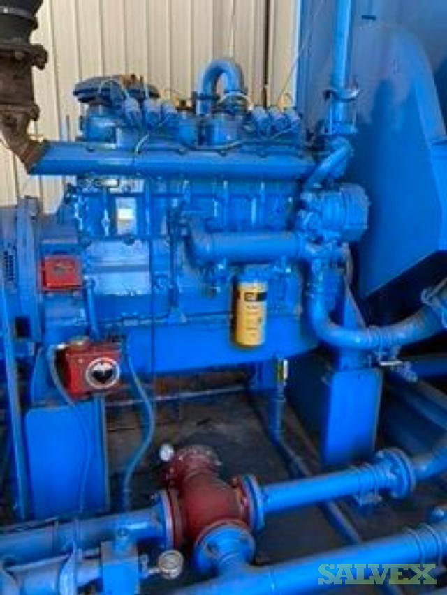 Gardner Denver SSYG99C/04 Air Compressor & CAT 3406 NA Engine Package