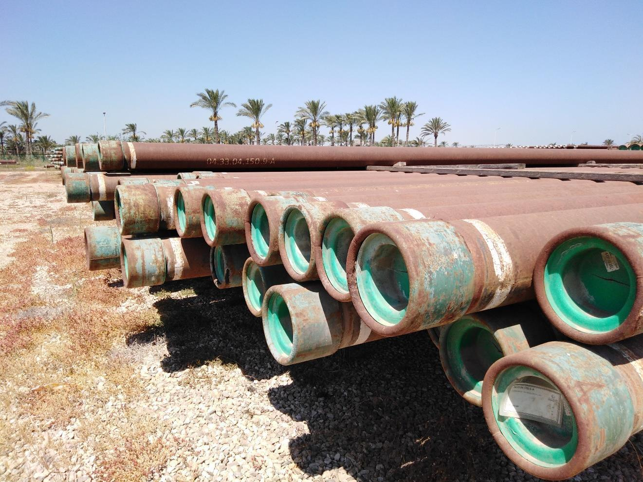 9 5/8 53.50# TN-150 STL R3 Surplus Casing (3,280 Feet / 80 Metric Tons)