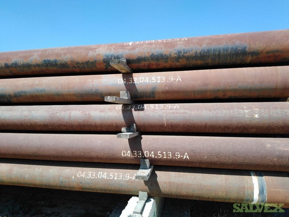 13 3/8 72# TN-150 DW STL R3 Surplus Casing (17,880 Feet / 584 Metric Tons)