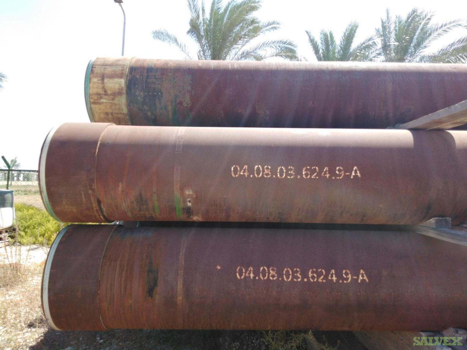 24 1/2 133# K55 BTC R3 Surplus Casing (2,800 Feet / 169 Metric Tons)