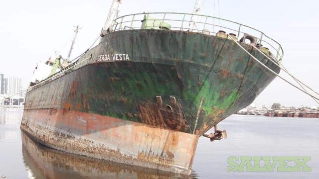 Scrap Vessel (738 Metrics Tons)