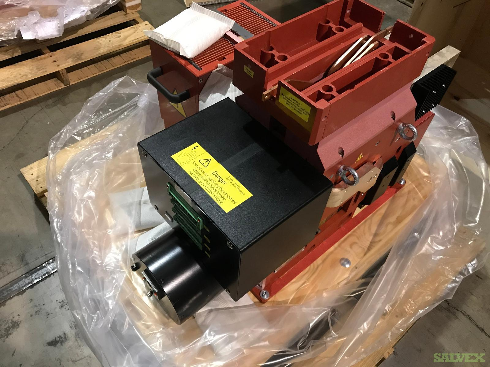 GE Gerapid High Speed DC Breakers - for DC Switch-Gear / New, Still in Boxes (16 Units)