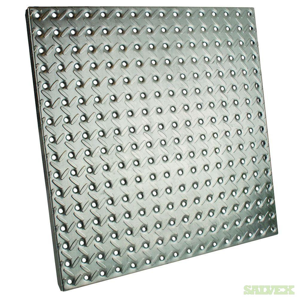 Everbilt (7-Pack) 16 in. x 16 in. Galvanized Pegboard with Diamond Plating ( 6,100 pcs.)  in Alabama