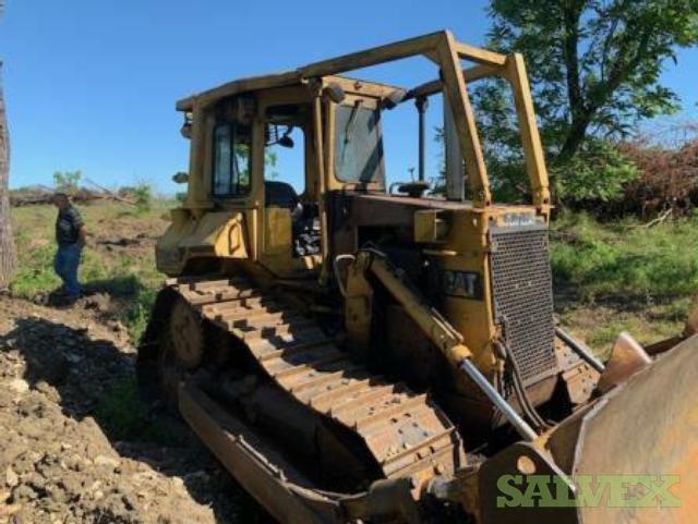 Caterpillar Dozer D5H Ps XL II Crawler Tractor 1993