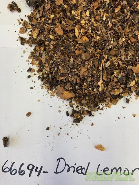 Chamomile and Dried Lemon Peels (1,930 Bags / 106,150 Lbs)