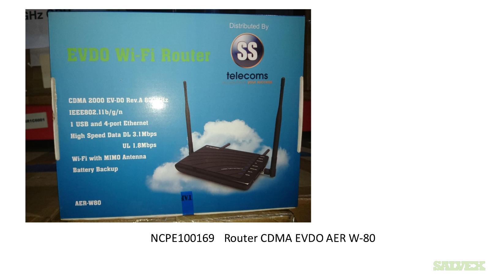 Telecommunications Equipment/Parts- Router CDMA, CAB-PWR-ZA, ZTE AC2787 USB Data Stick, Huawei F261 Docking Station and many more