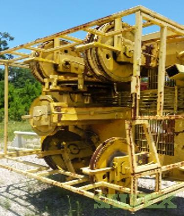 MD Cowan Single Drilling Rig (Equipped with CAT Engine, RT400B Drawworks, Mud Pumps, etc.)