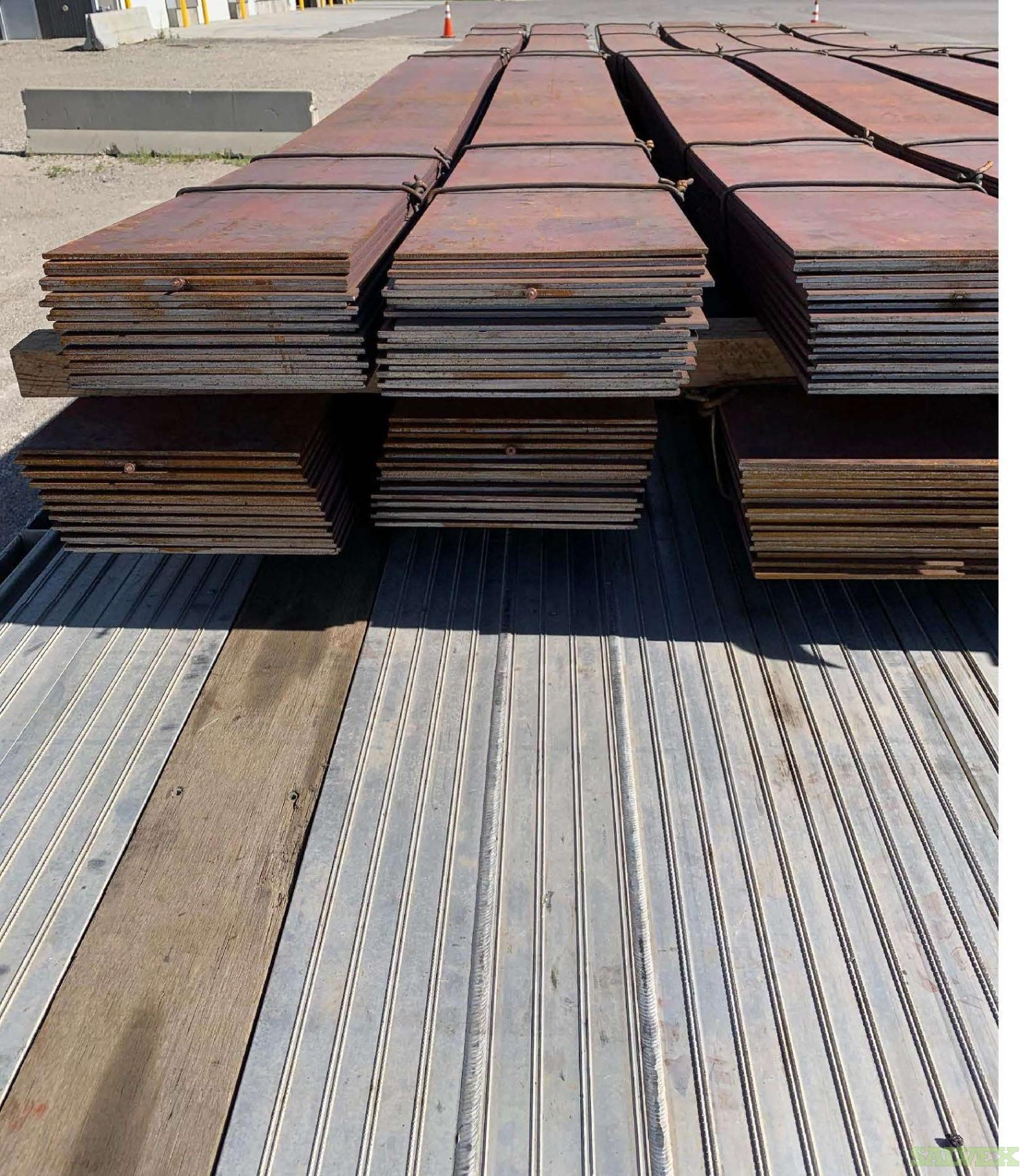 Hot Rolled Steel Plate (48,996 lbs)
