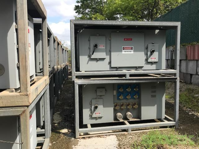 ESL Power Supply Units 800A // 400/480 VAC // 50/60 Hz - Unused (01 unit)