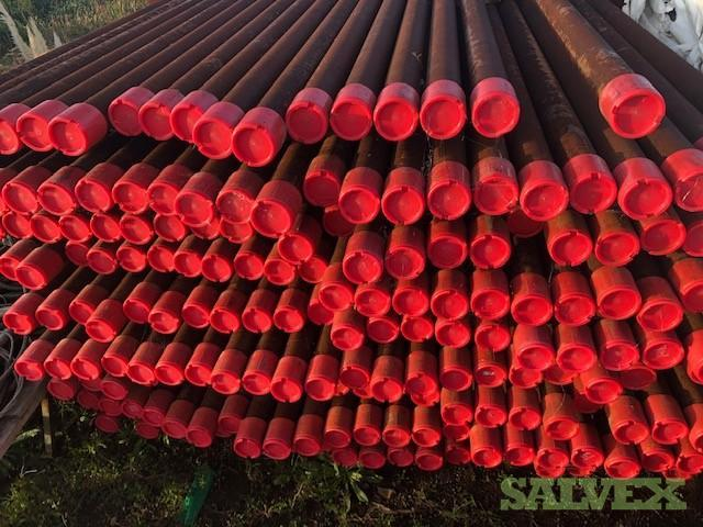 2 3/8, 2 7/8, 3 1/2, 4 1/2, 5 1/2, and 7 Pipe - Combined Lot (3,995 Joints / 141,270 Ft / 1,101.58 MT)