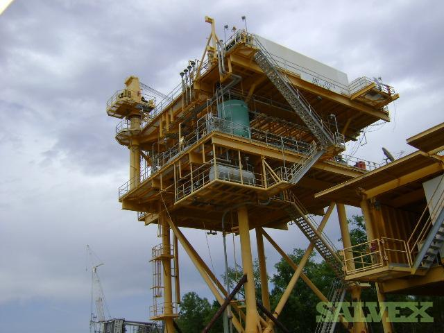 Platform, Heli-Deck & Crane