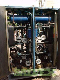 Custom Designed and Constructed Dual-sided Liquid-Liquid Process Heating and Chiller Unit