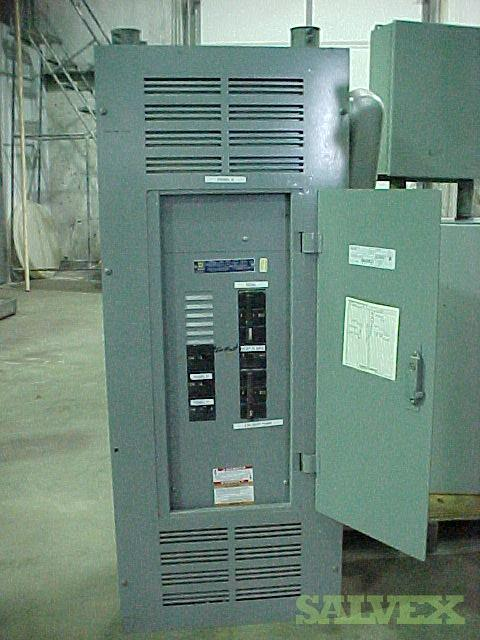 Electrical Boxes, VFDs and Control Cabinets with Control Boxes, Electrical Panel with Breakers (6 Units)