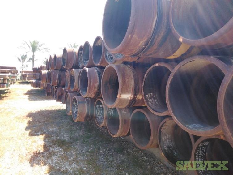 20 .812WT X80 Surplus Line Pipe (4,320 Feet / 326 Metric Tons)