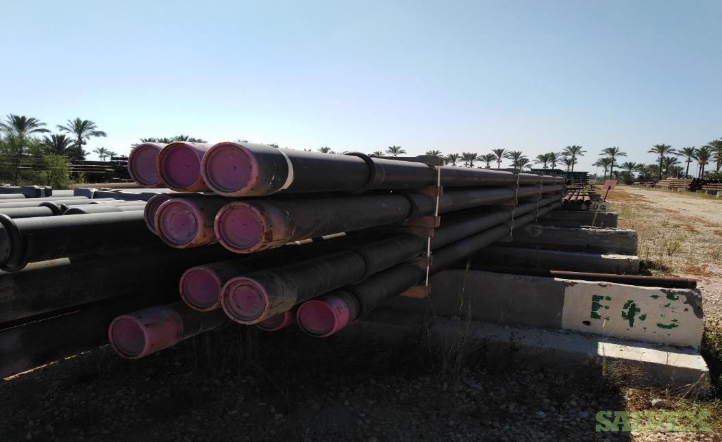 7 29# VM95S VAM 21 R3 Surplus Casing (1,560 Feet / 21 Metric Tons)