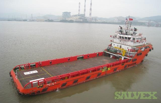 75m Platform Supply Vessel 2012