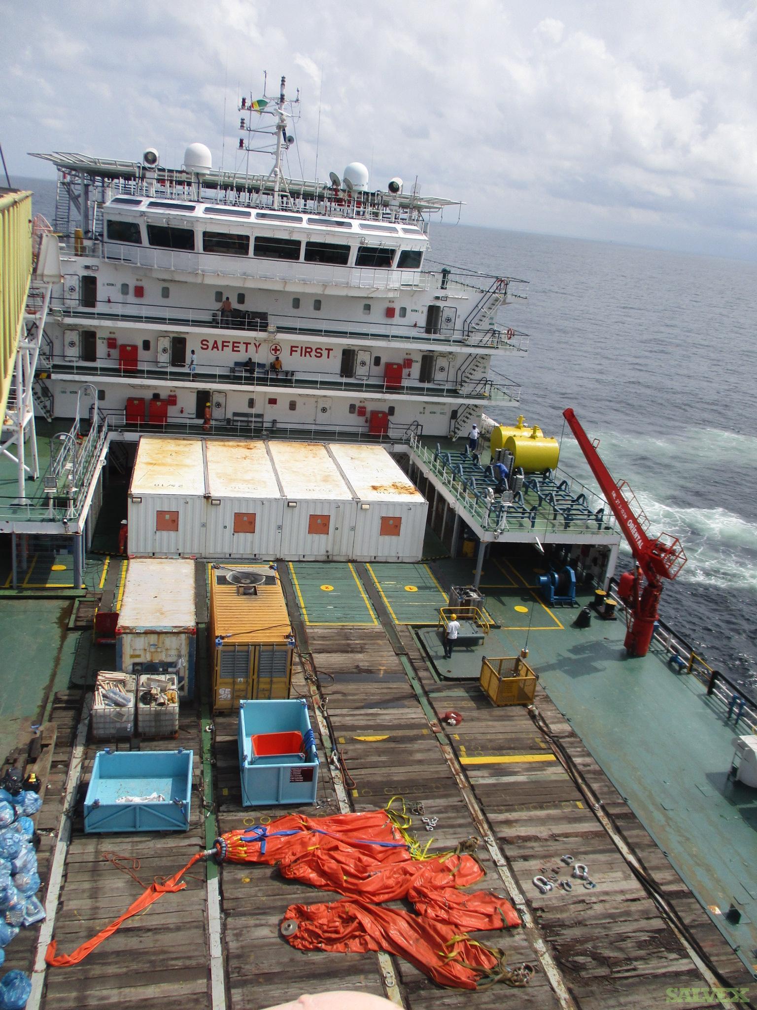 100m Accommodation Work Barge 2009