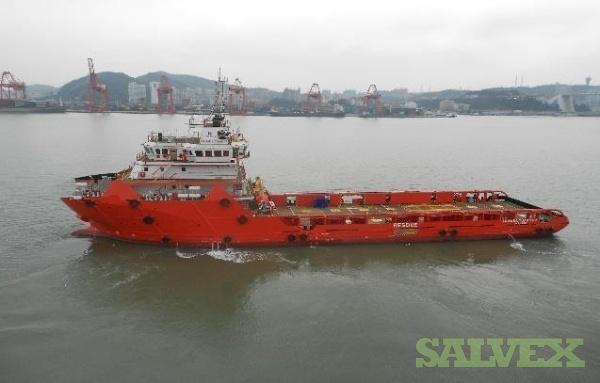 75m (246 Ft) DP2 Platform Supply Vessel 2014