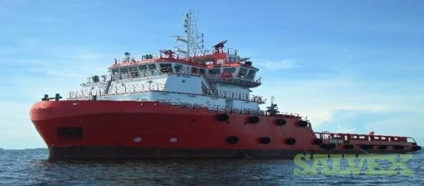 65m Anchor Handling Offshore Support Vessel 2009