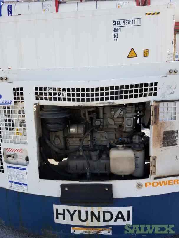 Carrier Gensets 2006- Damaged (2 Units)