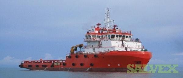 65m DP1 Anchor Handling Offshore Support Vessel 2010