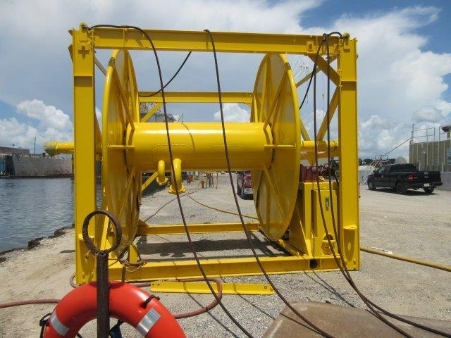 Hose Reel 5-5-2015 - Empty, No Hoses Included (1 Reel)