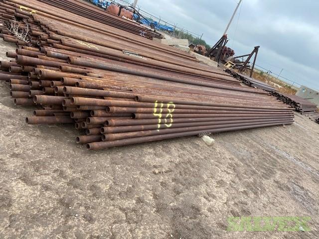 2 7/8 6.40# L80 EUE Bare R2 Used Tubing (49,710 Feet / 144 Metric Tons)