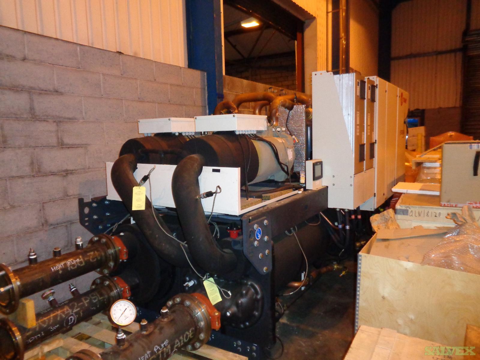 Trane type RTWF 360HSE, 400V-50 HZ-3PH Heat Pumps (2 Units) in Scotland, United Kingdom