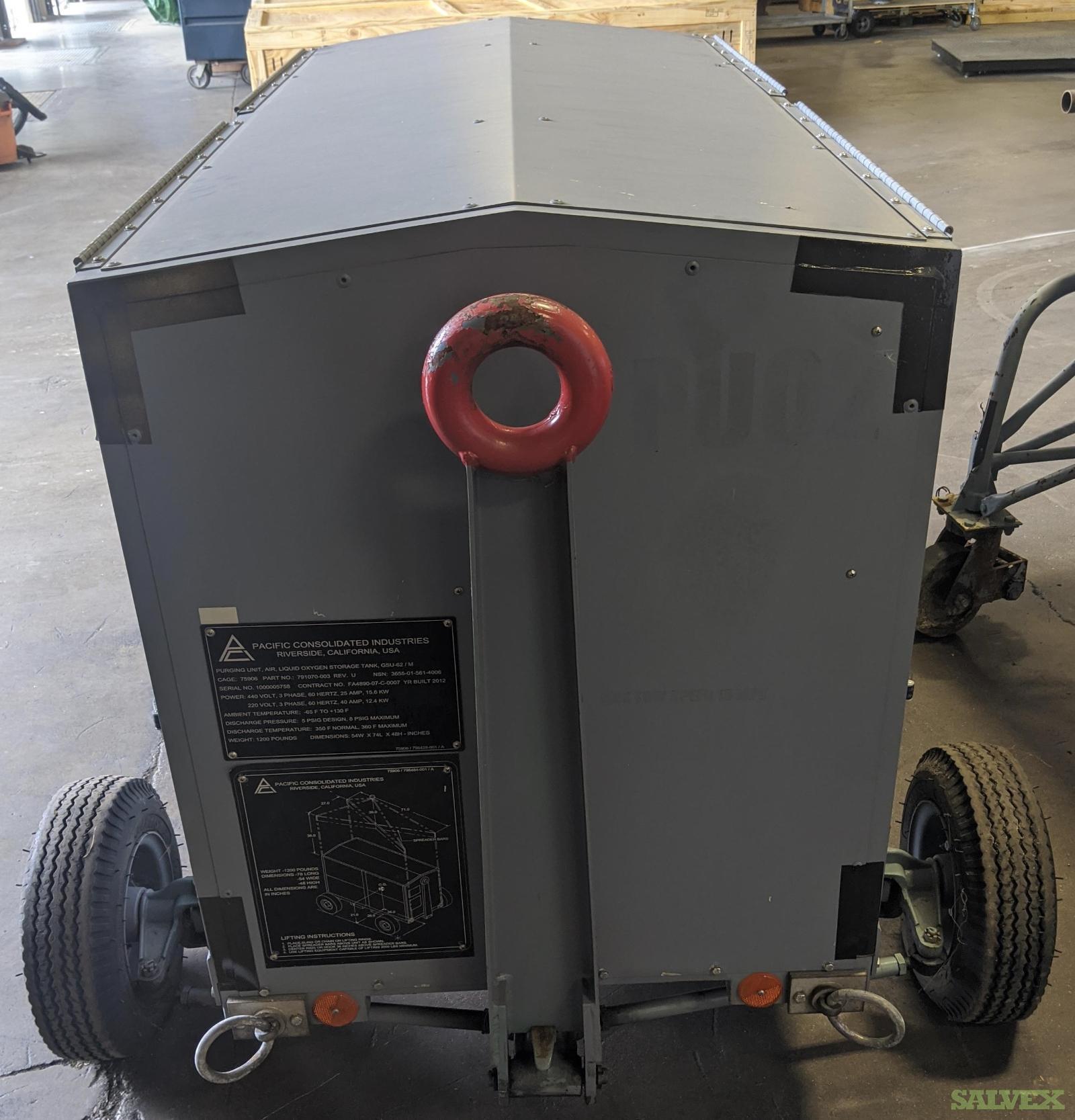 Pacific Consolidated Industries GSU-62/M Liquid Oxygen Purging Unit