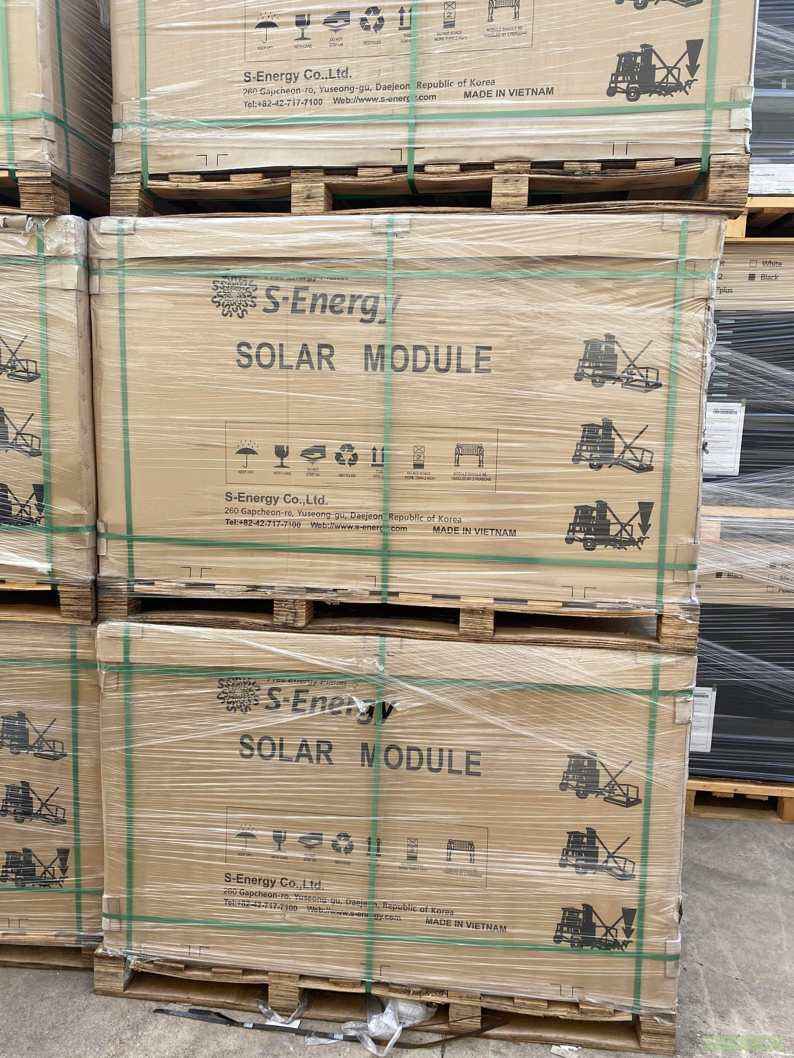 S-Energy 310W Solar Panels - New (265 Units)