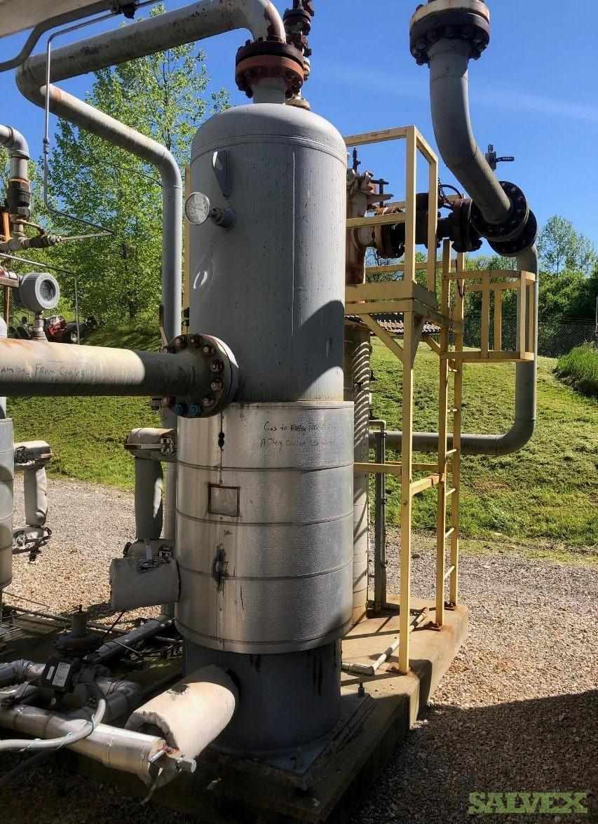 Allied Equipment Inc Gas Scrubbers: H2S, After Regen Cooler and Inlet (3 Units)