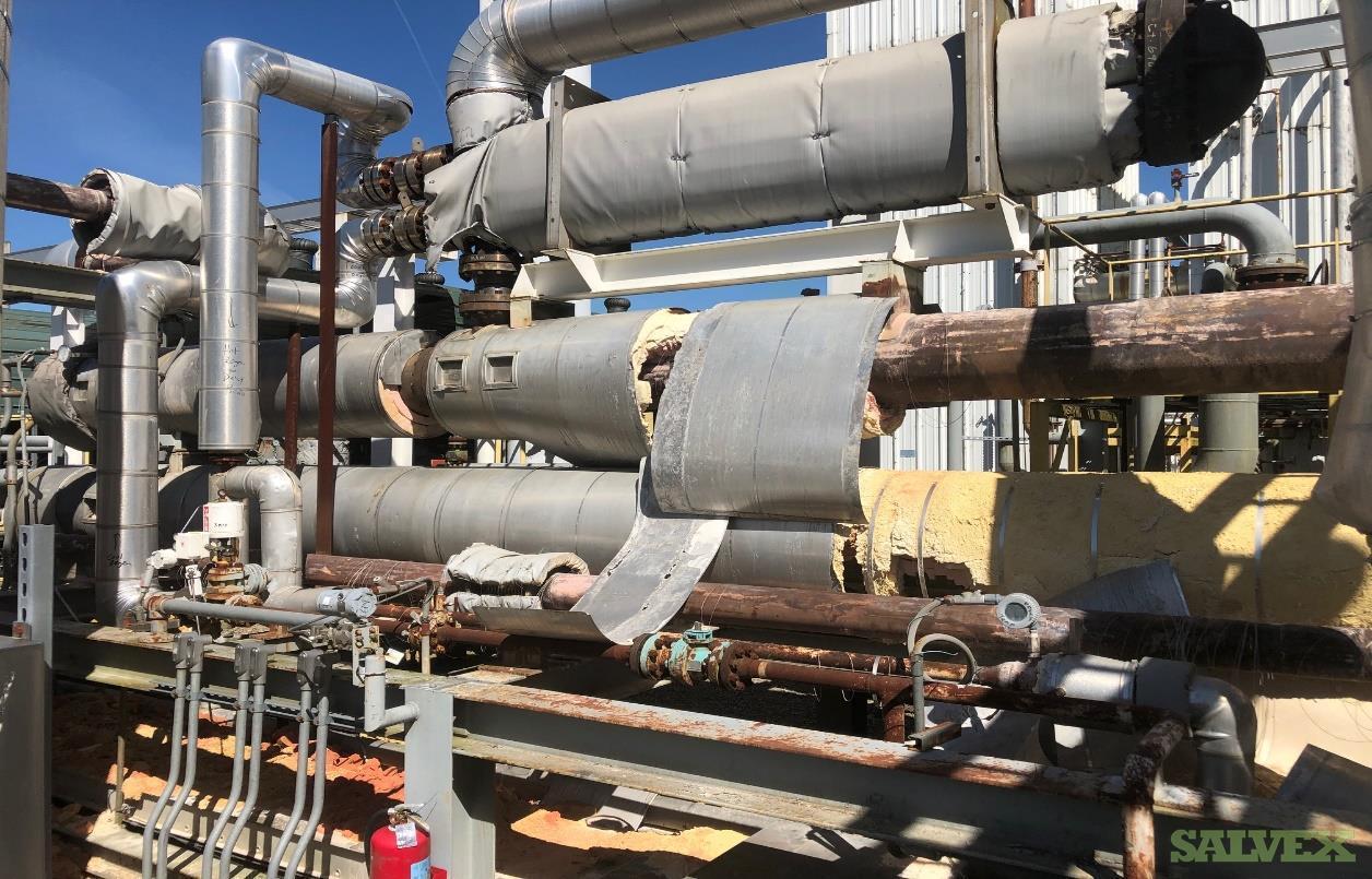 O2 Reactor Heaters & Dehy Bed Regen Heater Exchanger (2 Units)