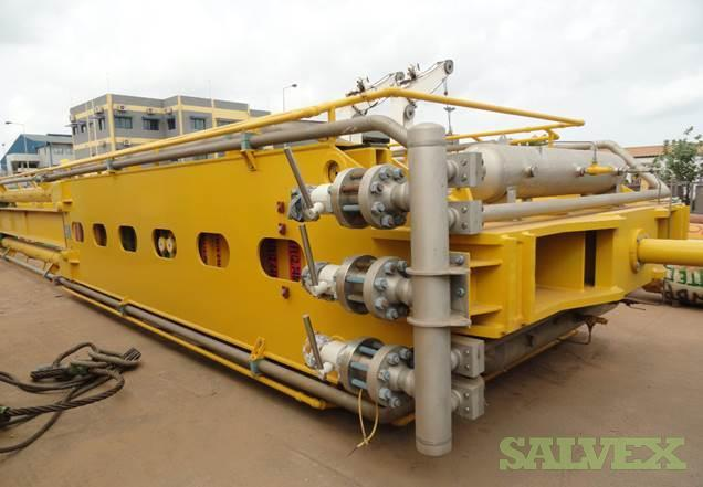 Coiled Tubing Motion Compensated Lift Frame Equipment