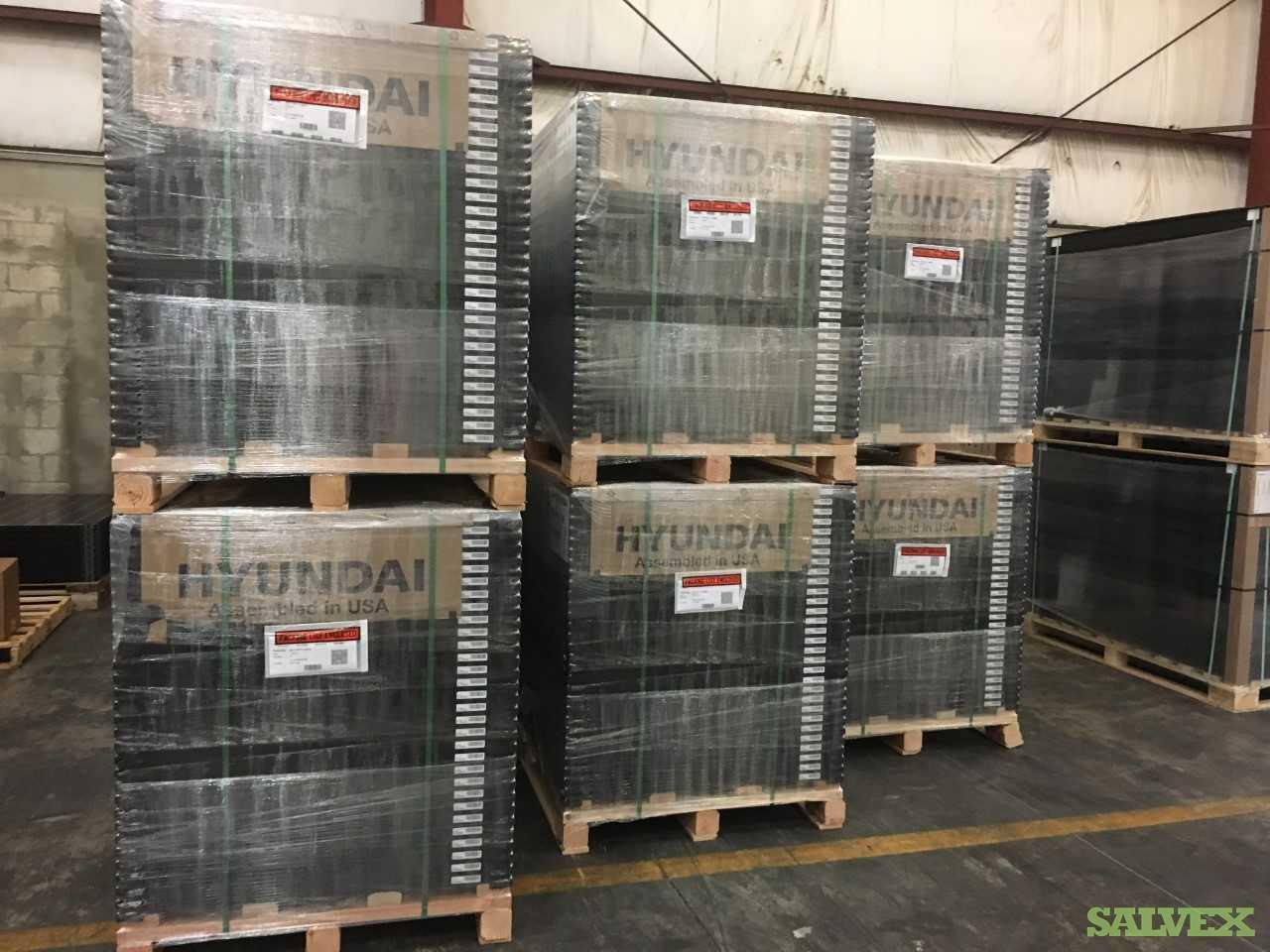 Hyundai 300W Mono-Crystalline Solar Panels (2,880 Units)