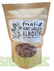 Largueta Almonds with Honey (192 Tubs) - Spain Origin