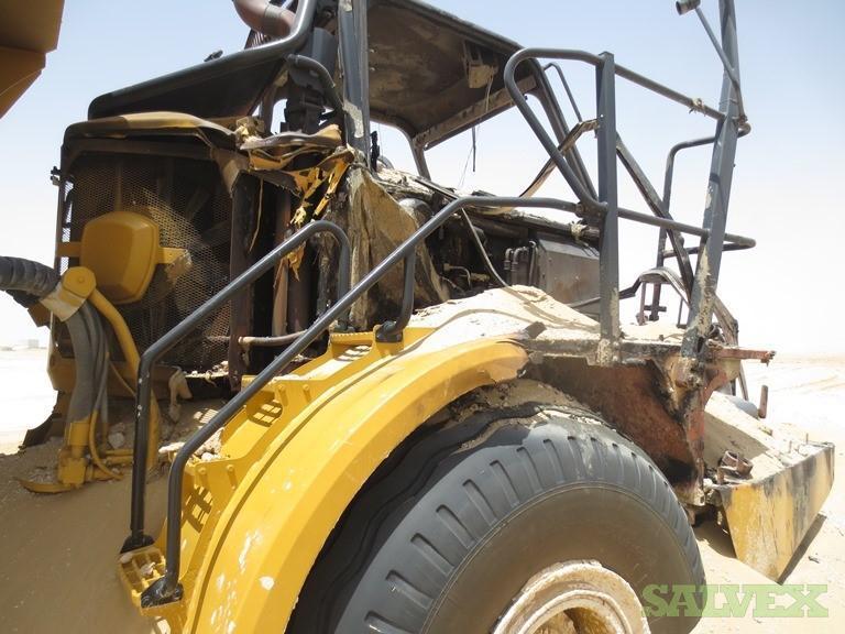 Damaged Caterpillar 740B Articulated Dump Truck 2012