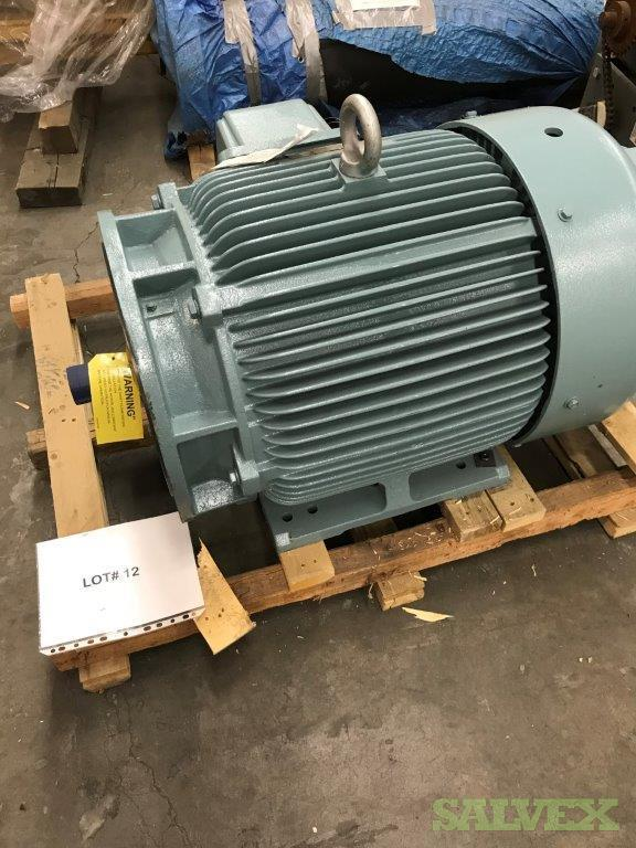Electric Motors 250 HP / 1200 RPM, and 150 HP / 1800 RPM (2 Units)