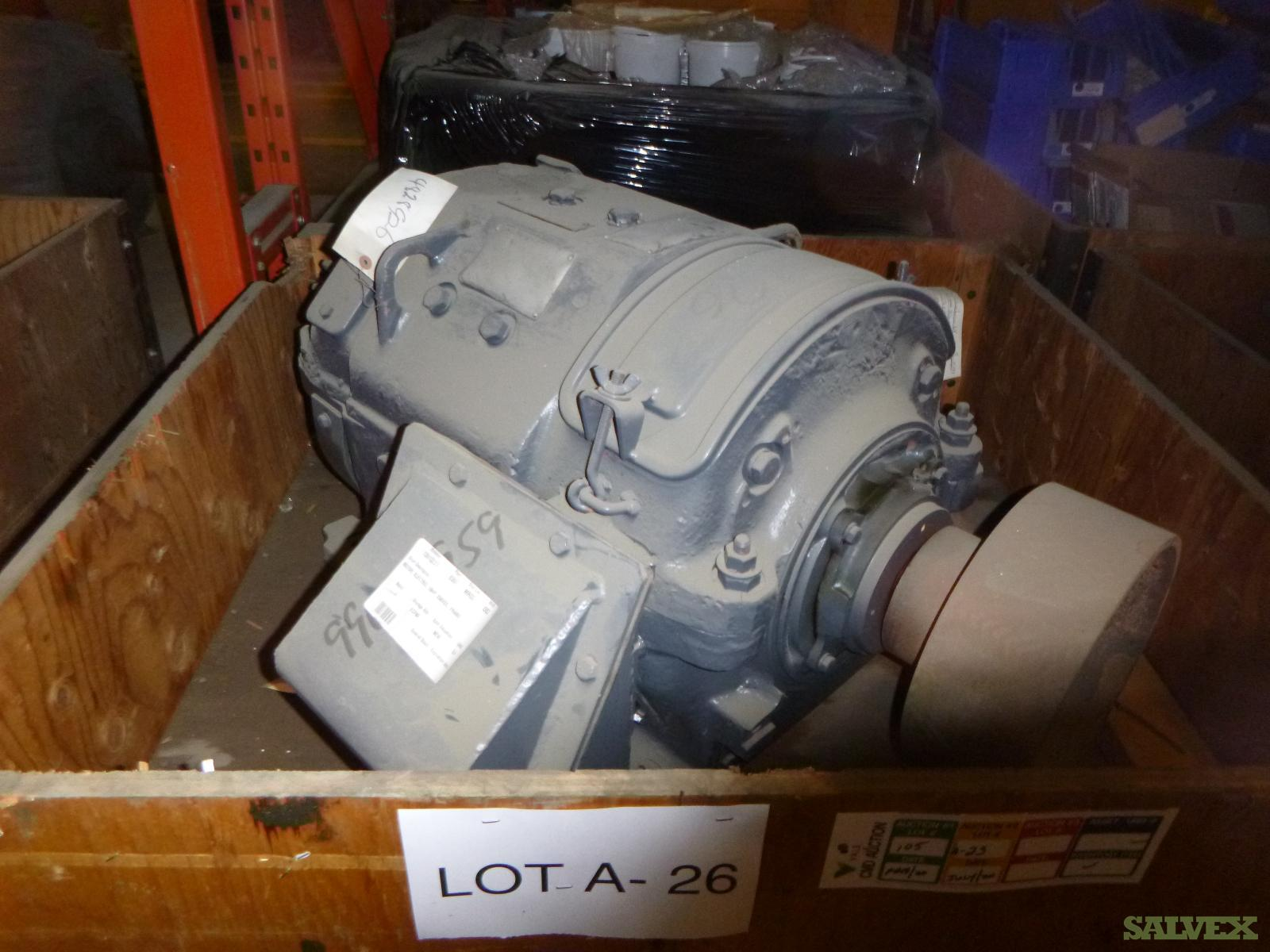 Electric Motors: 50HP, 40HP & 19HP (4 Motors)