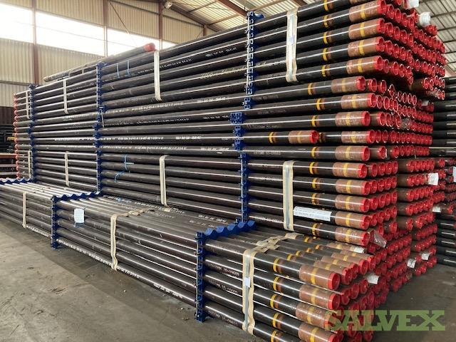 4 1/2 12.60# L-80 CR13 Fox SLMS R2 Surplus Tubing (6,300 Feet / 36 Metric Tons)