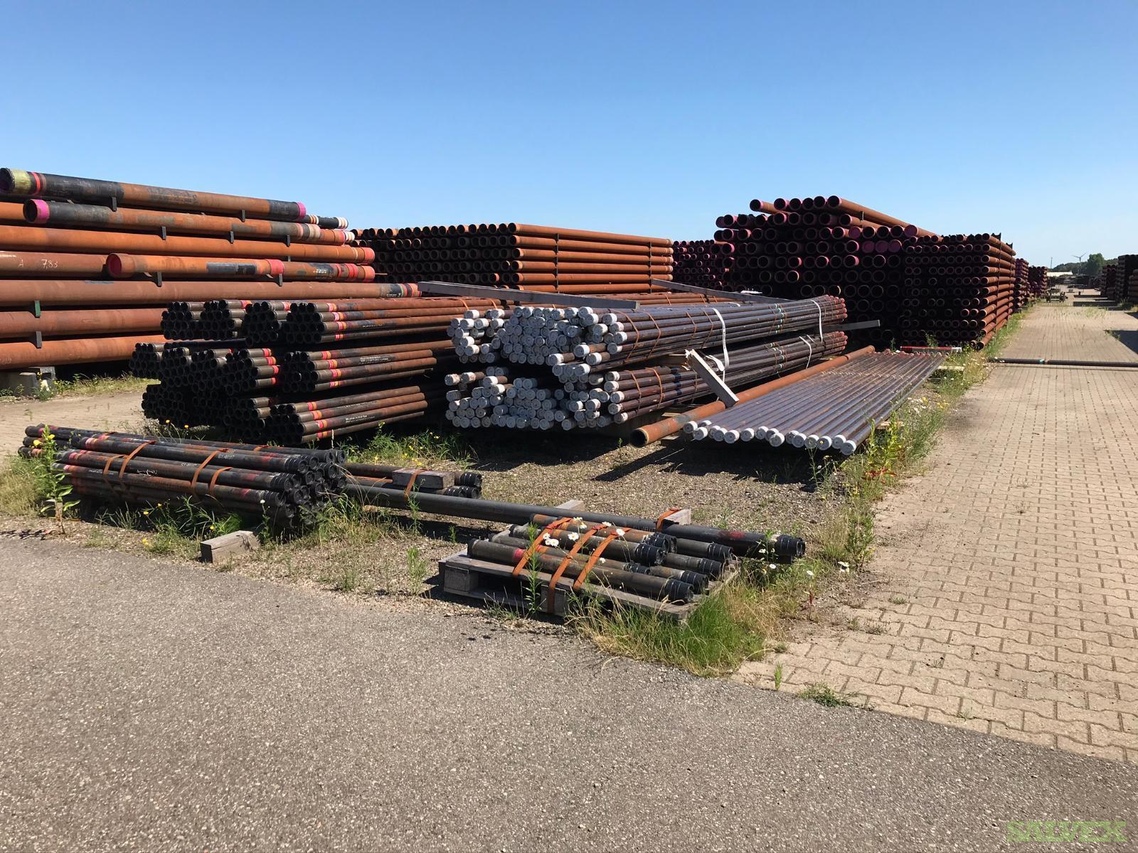 4 1/2 12.60# 26CR J55 Techniseal R2 Surplus Tubing (207 Feet / 1 Metric Tons)
