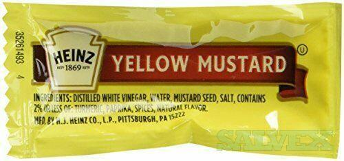 Heinz Mustard Packets 500CT (13,000 cases)