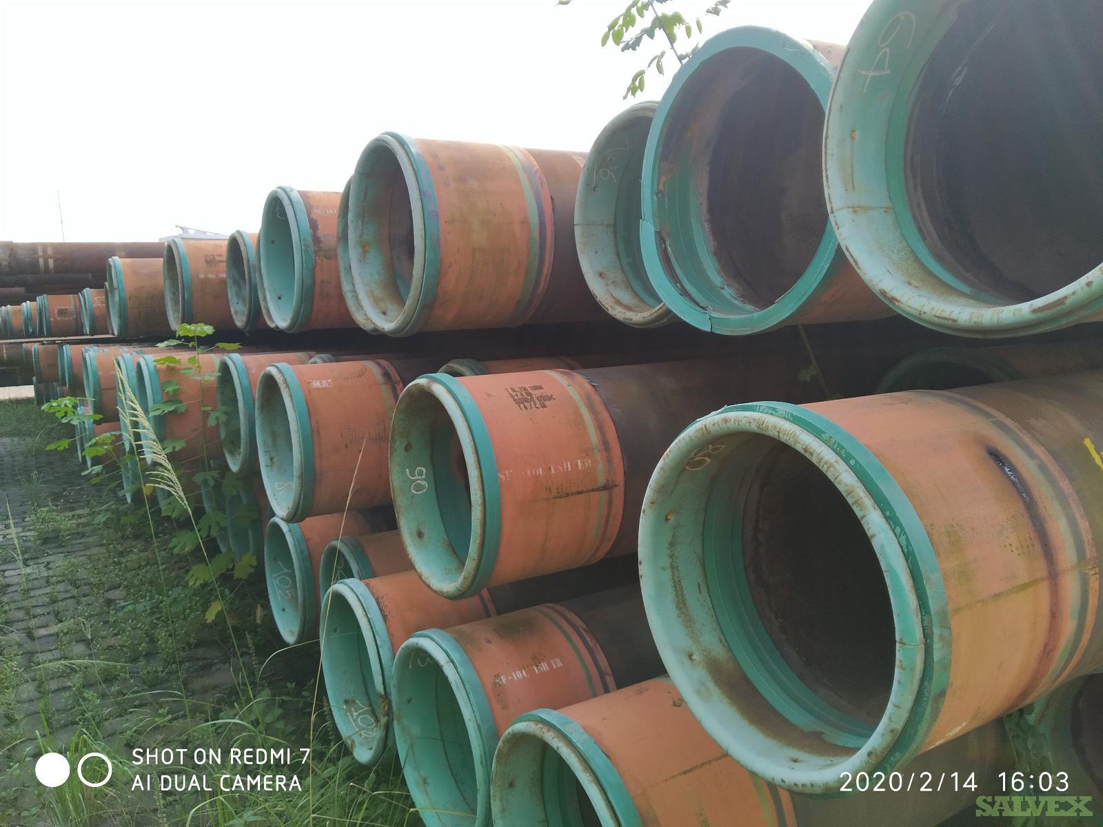16 84# N80 ER R3 Surplus Casing (6,508 Feet / 248 Metric Tons)
