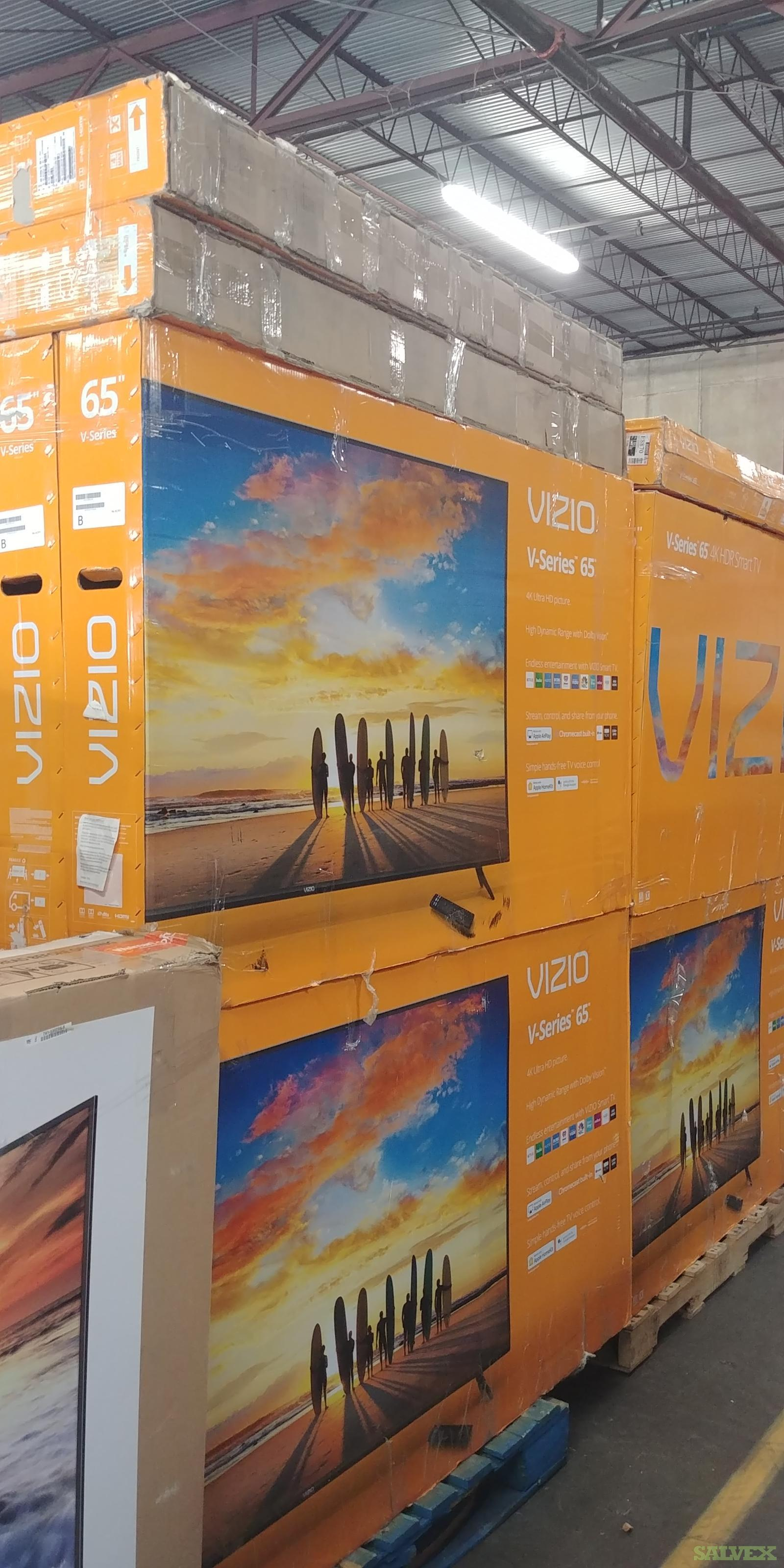 Vizio Televisions - Salvage (350 Units)