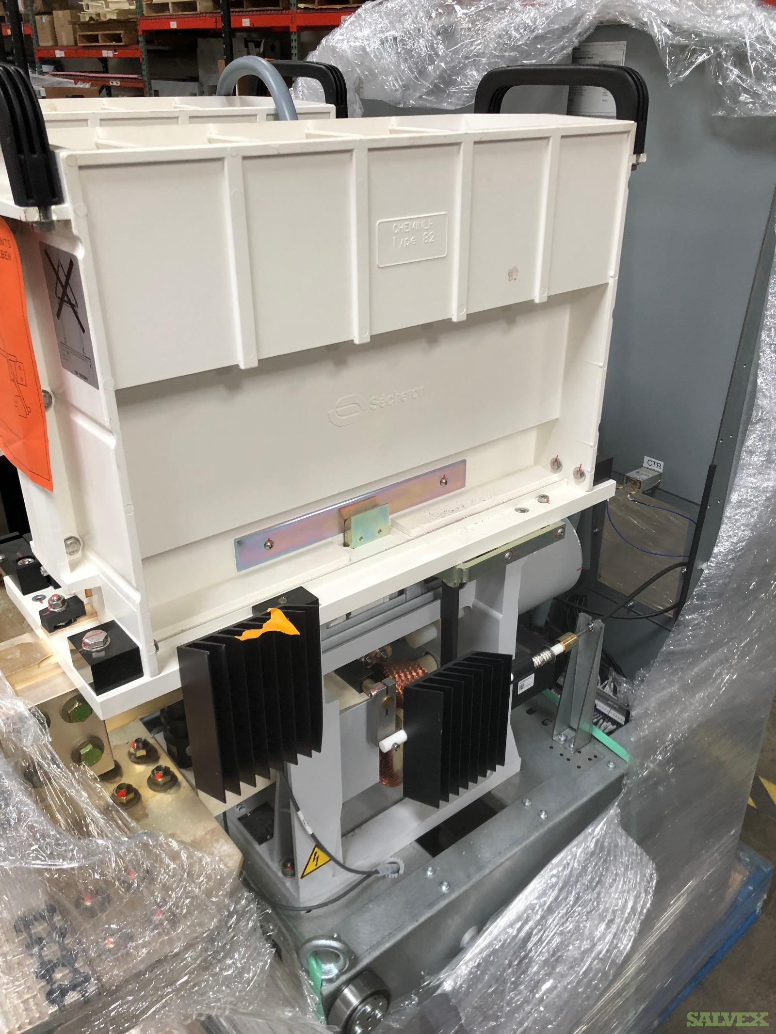 Secheron UR46-82S High Speed DC Circuit Breakers (5 Units)