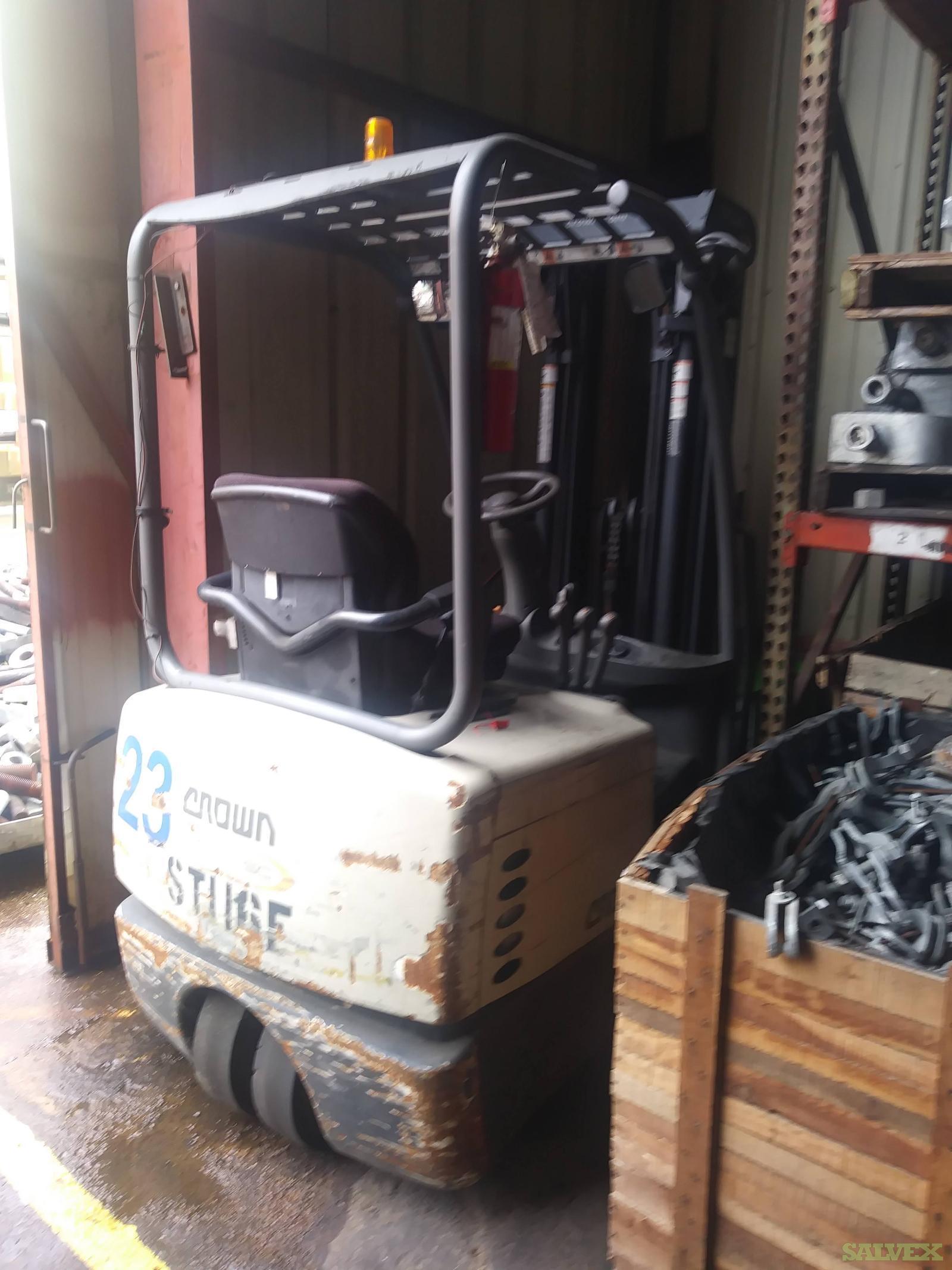 Crown SC Forklift SC4010-30TT  ( 3K capacity )