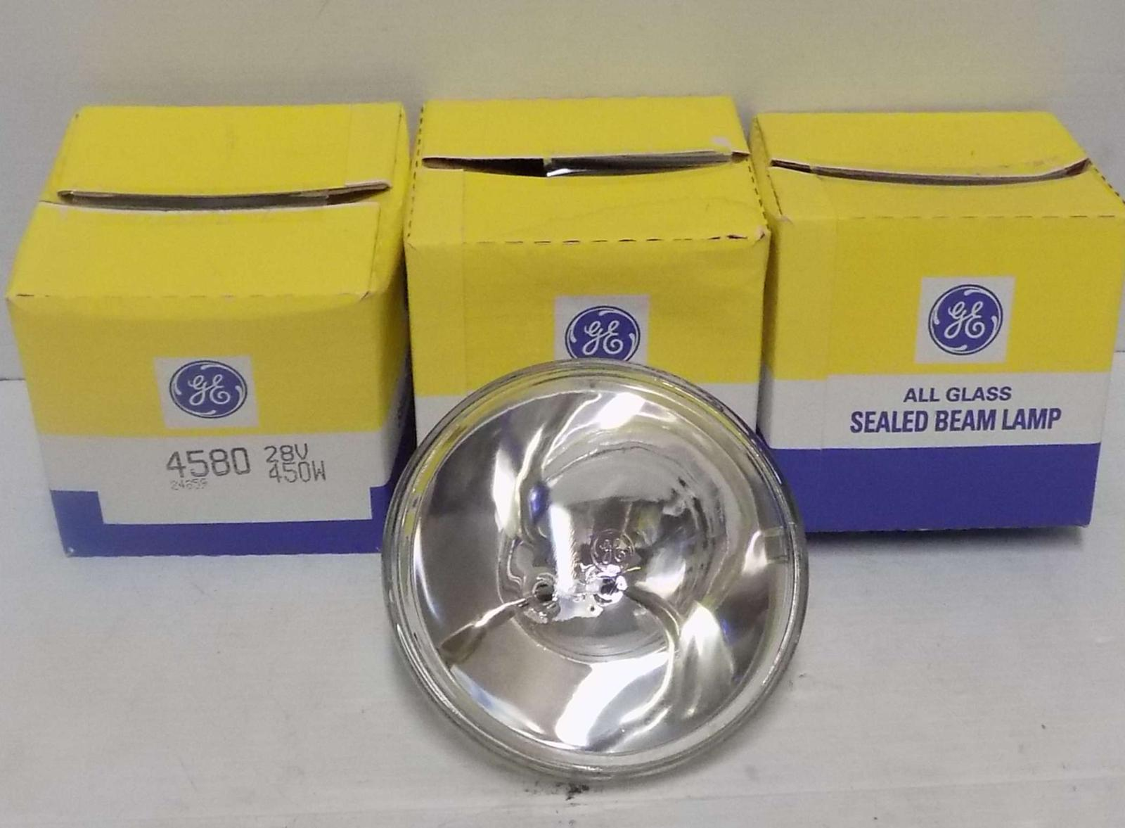 General Electric GE4580-28V-450W Sealed Beam Lamps (180 units)