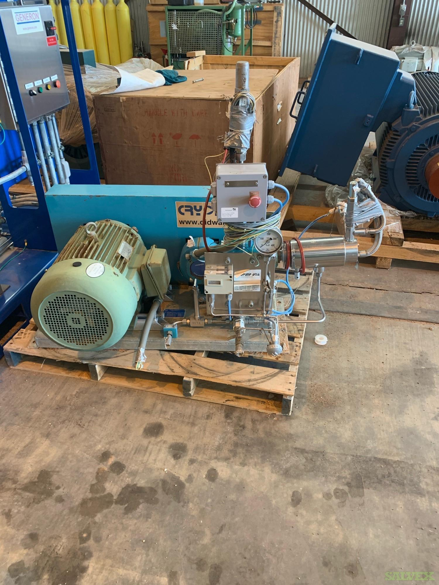 Cryopump Liquid Oxygen Pump (1 Unit)