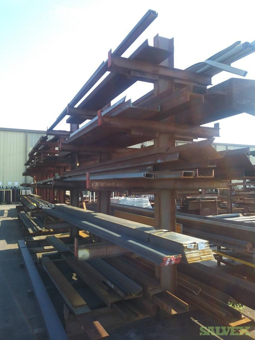 Structural Carbon Steel-  W-Beam, Tube Steel, Angle, MC Channel - 22.64 MT